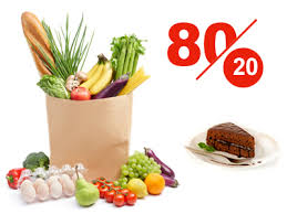 رژیم غذایی 80/20